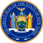 Image of the official New York state seal