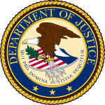 Image of the official United States Department of Justice seal