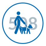 Image showing the Braille Works 508 Document Compliance icon
