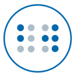 Image of the Braille Works Braille icon