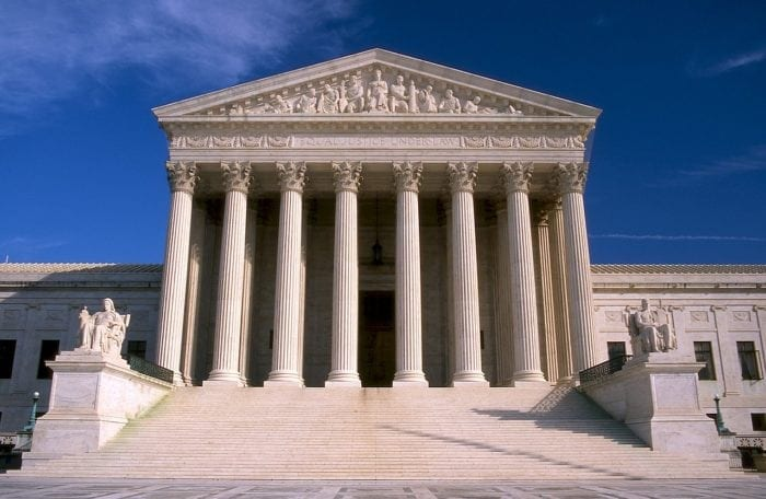 Photograph of the US Supreme Court building