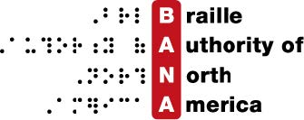Braille Authority of North America logo