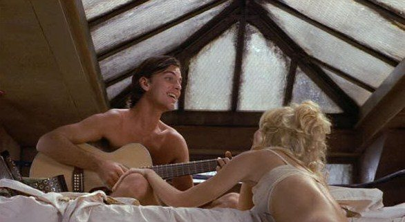 Edward Albert & Goldie Hawn from Butterflies Are Free