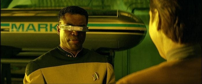 Geordi LaForge from Star Trek: The Next Generation