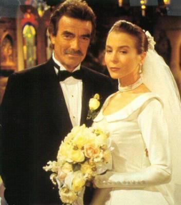Hope Adams-Wilson from The Young and The Restless during her wedding