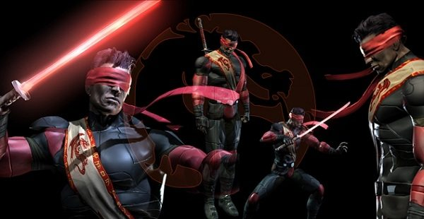 Kenshi from Mortal Kombat video games