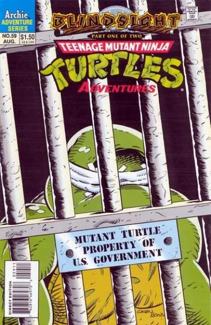 Cover of Teenage Mutant Ninja Turtles Archie Comics BlindSight