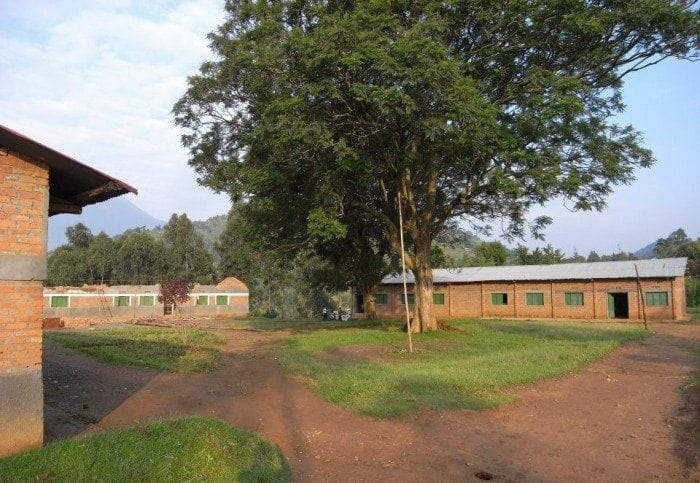 Image showing a few of the dormitory buildings at Camp GLOW and Camp BE in Rwanda.