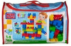 Image showing the First Builders Deluxe Set by Mega Bloks