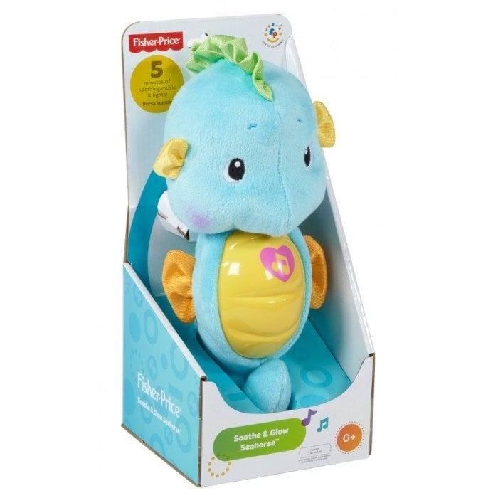 Image of the Fisher-Price Ocean Wonders Soothe and Glow Seahorse in its package