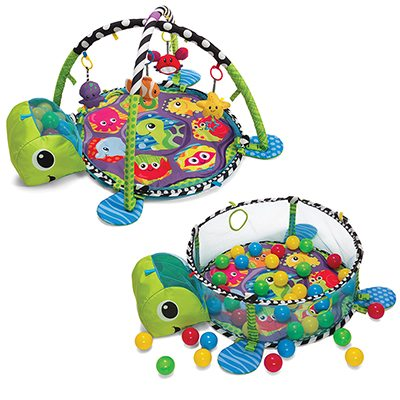 Image of the Grow-With-Me Activity Gym and Ball Pit by Fisher Price