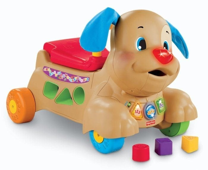 Image of the Laugh and Learn Stride-to-Ride Puppy by Fisher-Price