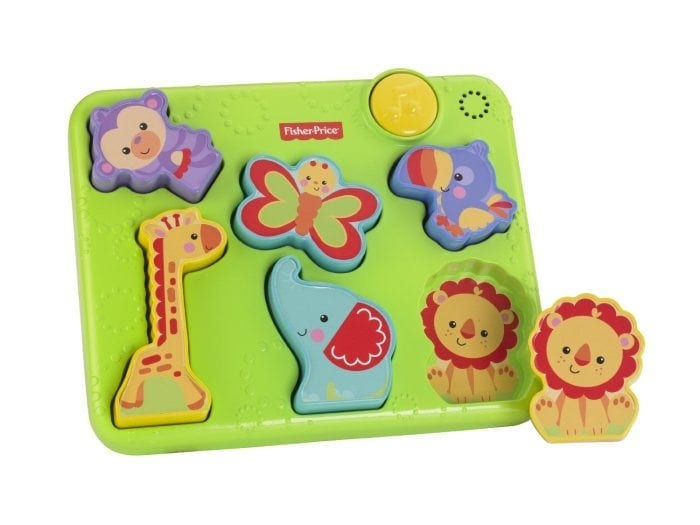 Image of the Silly Sounds Puzzle by Fisher Price