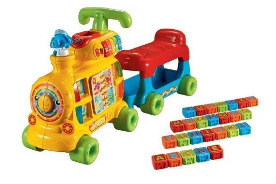 Image of the Sit-to-Stand Alphabet Train by VTech