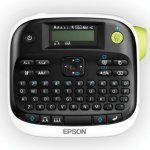 Image showing the keyboard and display screen of the Epson LabelWorks LW-300 Label Maker