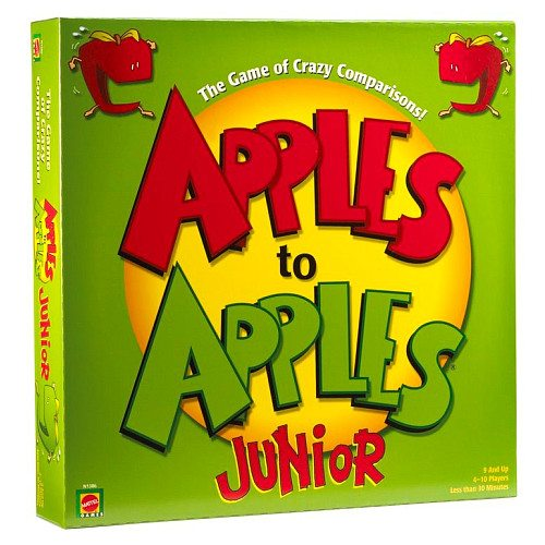 Image showing Apples to Apples Junior by Mattel