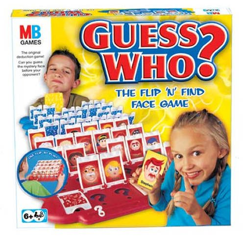 Image showing the Guess Who game by Hasbro / Milton Bradley