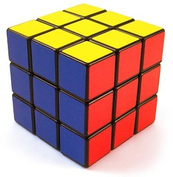 Image showing a completed Rubik's Cube