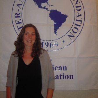 Image showing Elizabeth Lockwood with CBM International
