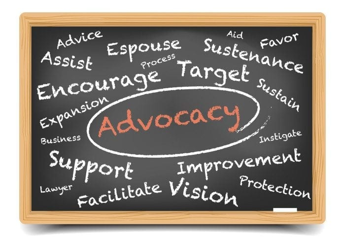 how to get into advocacy work