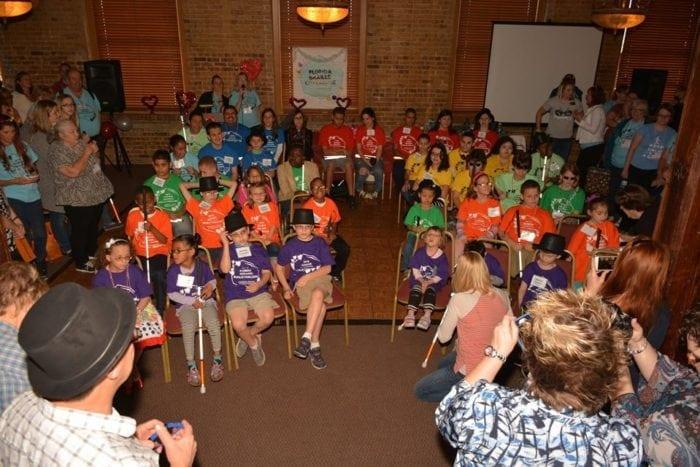 2016 Florida Braille Challenge participants.