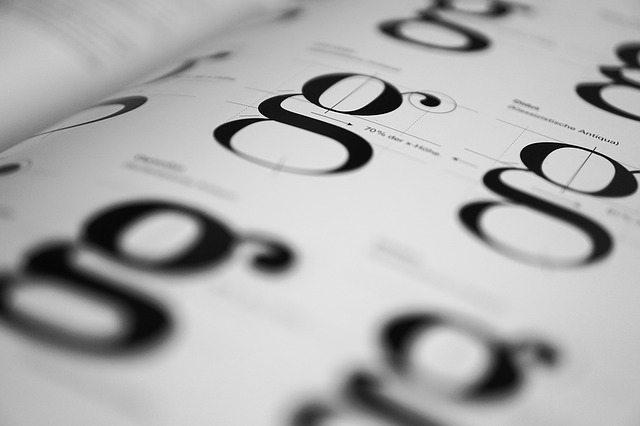 A few decorative font examples.