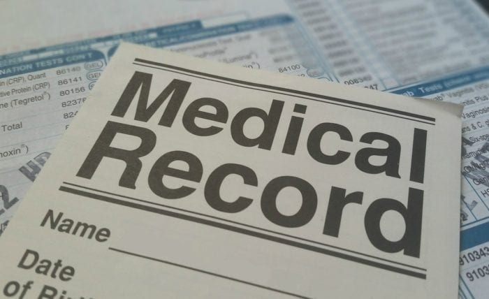 Medical Record documents