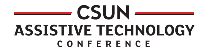 """Logo that reads """"CSUN Assistive Technology Conference"""""""